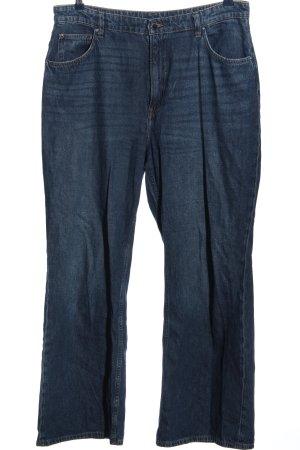 H&M DENIM Baggy jeans blauw casual uitstraling