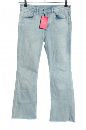 H&M DENIM Boot Cut Jeans blue casual look