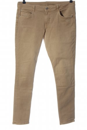 H&M DENIM Five-Pocket-Hose creme Casual-Look