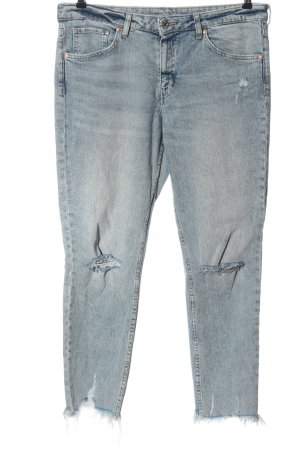 H&M DENIM Slim Jeans blau Casual-Look