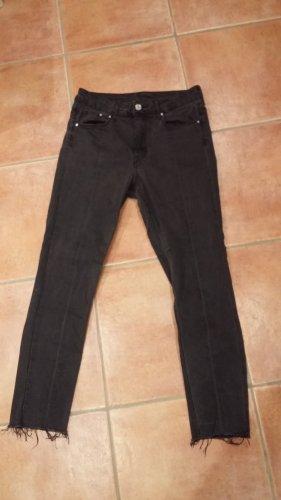 H&M denim Jeans mit Fransen Gr. S