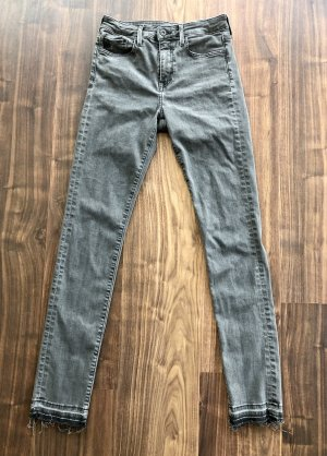 H&M Denim Jeans Shaping grau 29/32