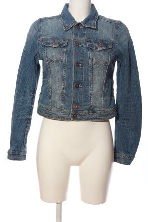 H&M DENIM Veste en jean bleu style décontracté