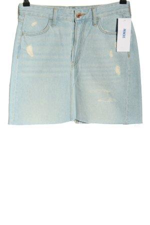 H&M DENIM Jeansrock blau Casual-Look