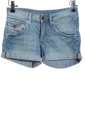 H&M DENIM Pantaloncino di jeans blu stile casual