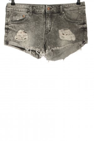 H&M DENIM Jeansshorts hellgrau Casual-Look