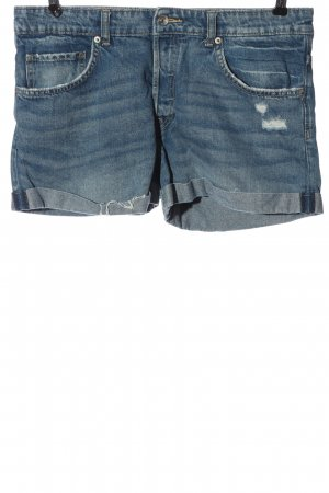 H&M DENIM Jeansshorts blau Casual-Look