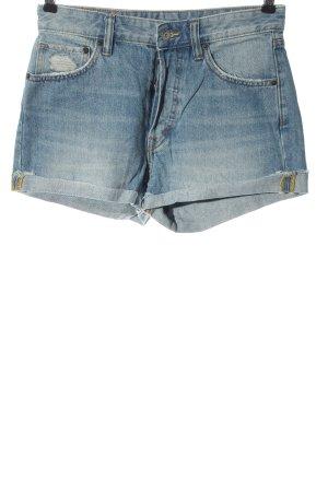 H&M DENIM Jeansshorts blau Casual-Look