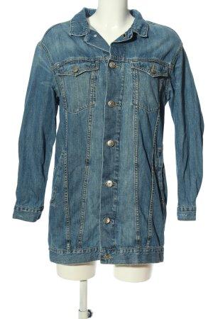 H&M DENIM Jeansweste blau Casual-Look