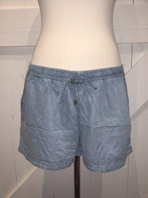 H&M &Denim Kurze Shorts aus Lyocell, Gr. L, hellblau NEU