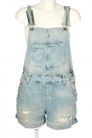 H&M DENIM Latzshorts