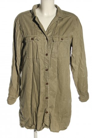 H&M DENIM Blusa larga color bronce look casual