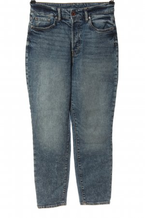H&M DENIM Mom-Jeans blau Casual-Look