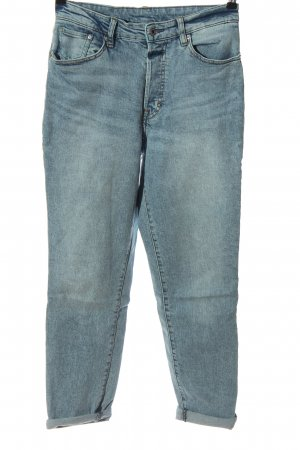 H&M DENIM Mom-Jeans blau Casual-Look