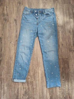 & DENIM Hoge taille jeans veelkleurig Katoen