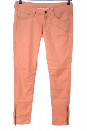 H&M DENIM Röhrenhose pink Casual-Look