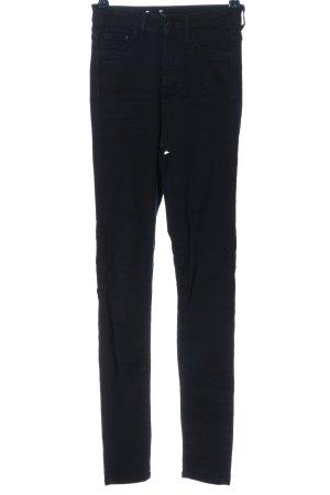 H&M DENIM Jeansy rurki czarny W stylu casual