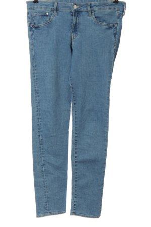 H&M DENIM Jeansy rurki niebieski W stylu casual