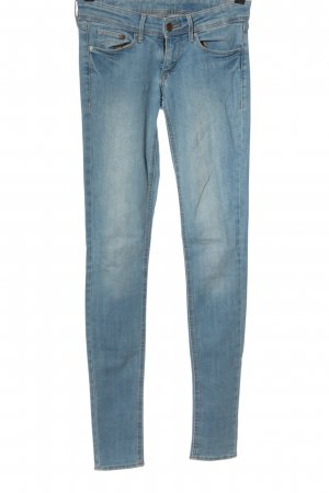 H&M DENIM Röhrenjeans blau Casual-Look