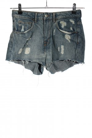 H&M DENIM Shorts blau Casual-Look