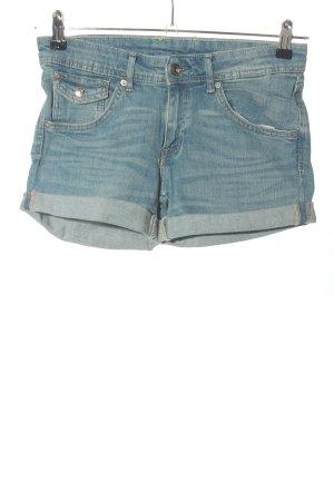 H&M DENIM Shorts blau Casual-Look