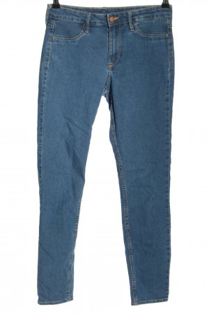 H&M DENIM Skinny Jeans blau Casual-Look