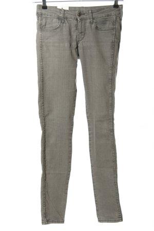 H&M DENIM Skinny Jeans hellgrau Casual-Look