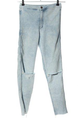 H&M DENIM Skinny Jeans blau Casual-Look