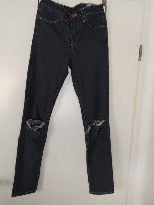 H&M &denim Skinny Regular Waist Ankle Jeans, W 26