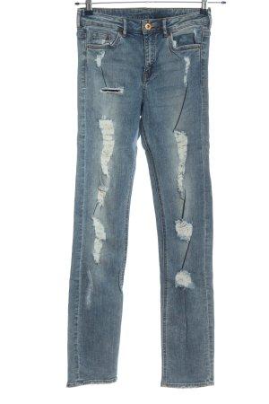 H&M DENIM Straight-Leg Jeans