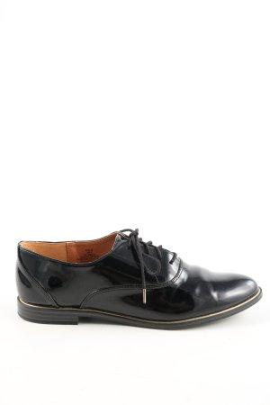 H&M Derby noir style d'affaires
