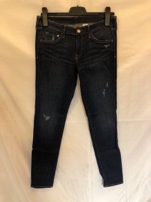 H&M Destroyed Jeans Super Skinny Low Waist