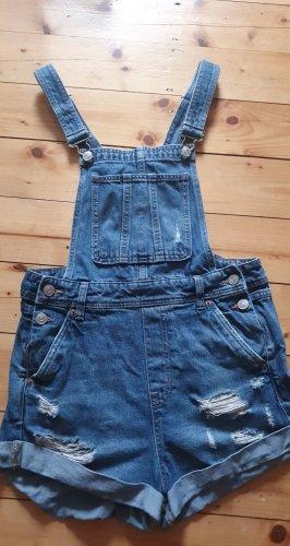 H&M Divided Bib Shorts slate-gray