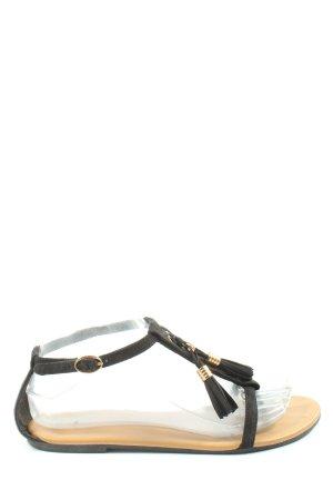 H&M Dianette-Sandalen schwarz Casual-Look