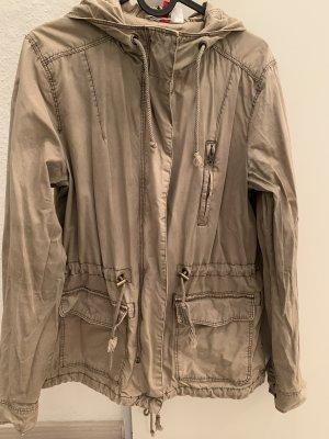 H&M Divided Giubbino marrone-grigio