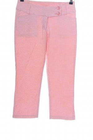 H&M Divided 7/8-Hose pink-weiß Allover-Druck Casual-Look