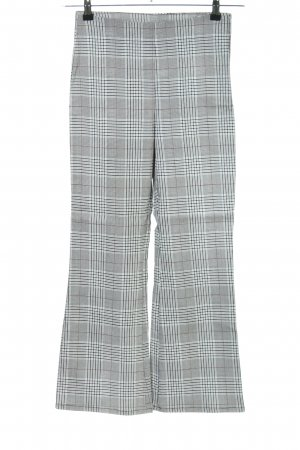 H&M Divided 7/8 Length Trousers check pattern business style