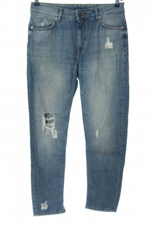 H&M Divided 7/8 Jeans blau Casual-Look