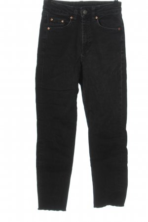 H&M Divided 7/8 Jeans schwarz Casual-Look