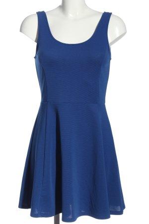 H&M Divided A-Linien Kleid blau Casual-Look