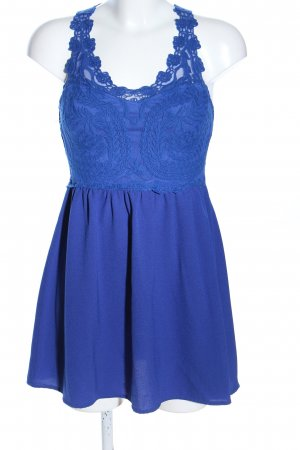 H&M Divided A-Linien Kleid blau Elegant