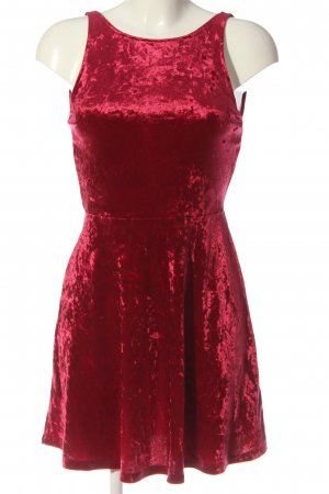 H&M Divided A-Linien Kleid rot Casual-Look