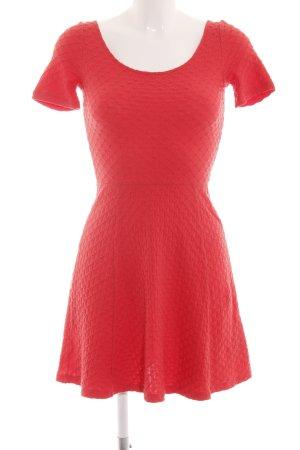 H&M Divided A-Linien Kleid rot Elegant
