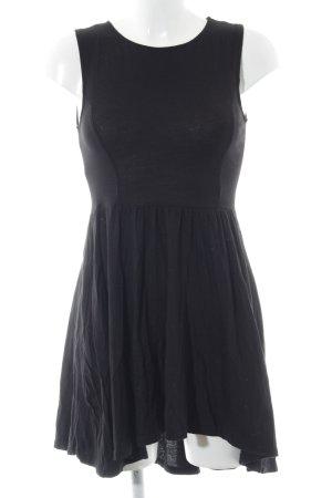 H&M Divided A-Linien Kleid schwarz Casual-Look