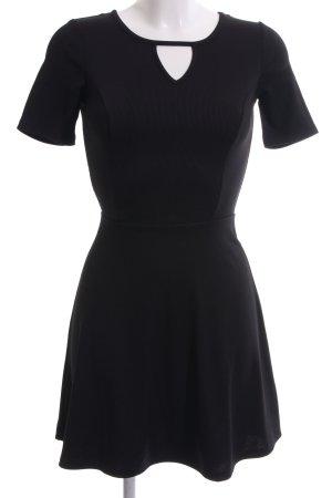 H&M Divided A-Linien Kleid schwarz Elegant