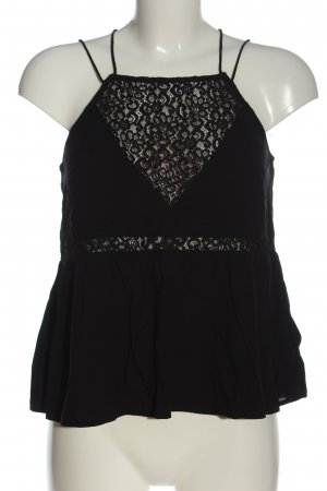 H&M Divided A-Linien Top schwarz Casual-Look