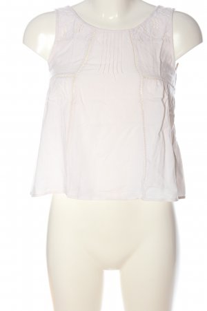 H&M Divided A-Linien Top weiß Casual-Look