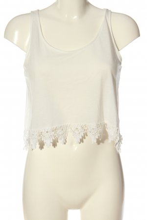 H&M Divided A-Linien Top wollweiß Casual-Look