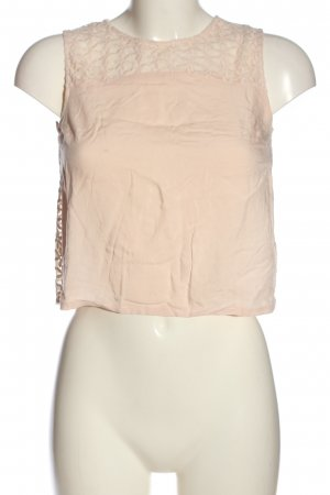 H&M Divided ärmellose Bluse pink Casual-Look