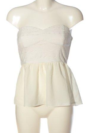 H&M Divided ärmellose Bluse weiß-creme Elegant